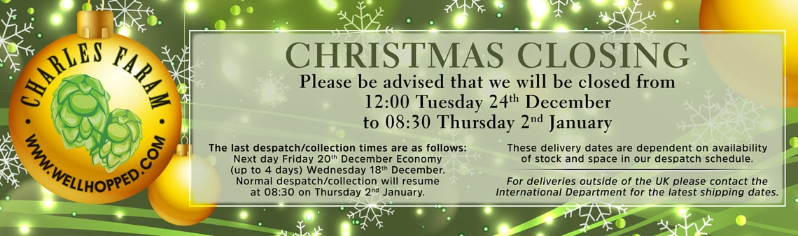 Christmas delivery and collection times for the UK